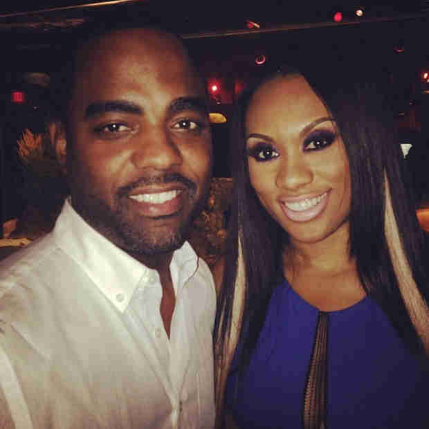 Todd Tucker Posts Pic With Carmon Cambrice — Are Things Better Now? (PHOTO)