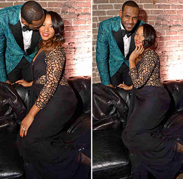 LeBron James's Wife Savannah Brinson Pregnant With Baby No. 3? (PHOTOS)