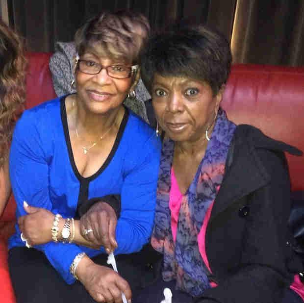 Kandi Burruss's Aunt Nora and Todd Tucker's Mom Are Friends! (PHOTO)