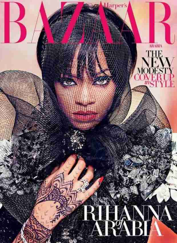 Rihanna Totally Covers Up For Harper's Bazaar Arabia, Still Looks Amazing (VIDEO)