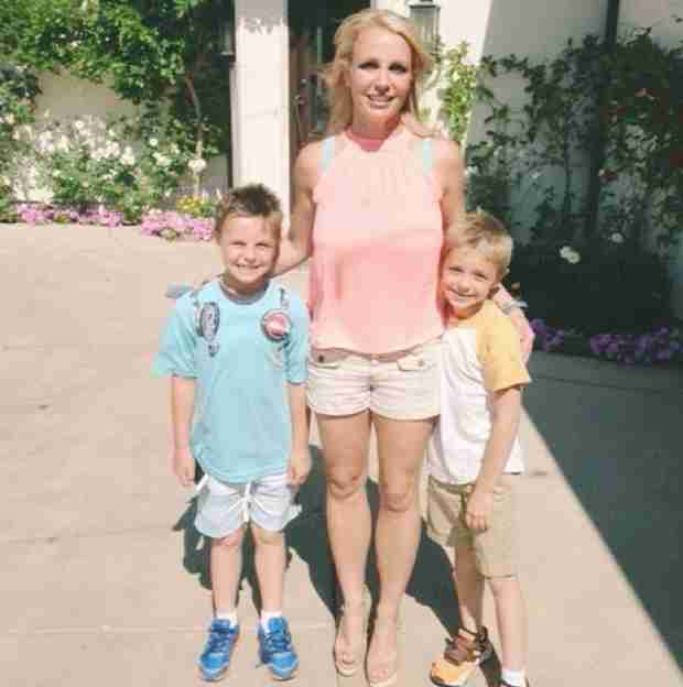 Britney Spears Shares a Sweet Photo of Her Sons! They're Getting So Big!