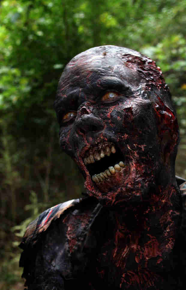 Greg Nicotero Explains Inspiration For Burnt Walkers, Talks Hershel's Decapitated Head