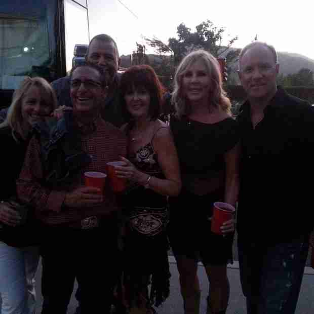 Vicki Gunvalson Steps Out With Brooks Ayers at Toby Keith Concert (PHOTO)