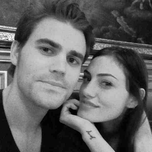 Paul Wesley and Phoebe Tonkin Cuddle Up in Adorable Selfie (PHOTO)