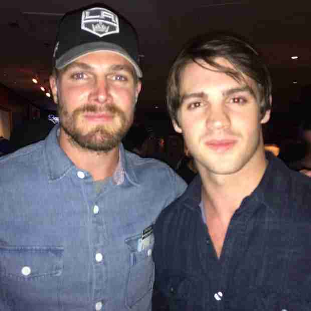 Steven R. McQueen Fuels Nightwing Rumors By Hanging Out With Stephen Amell