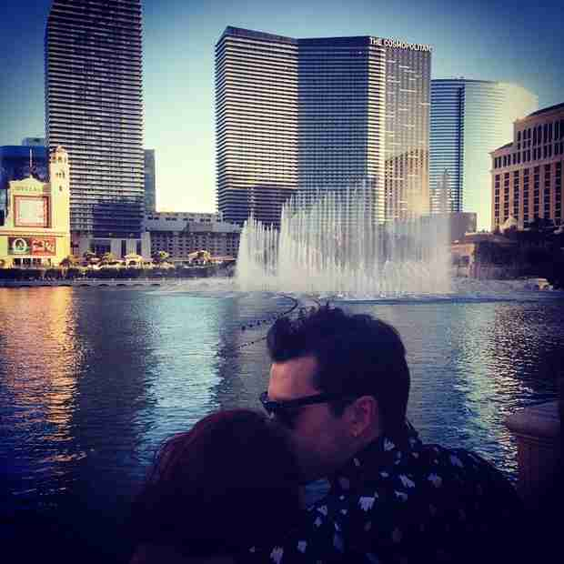 Michael Malarkey Cuddles Up With His Wife — Adorable Alert! (PHOTO)