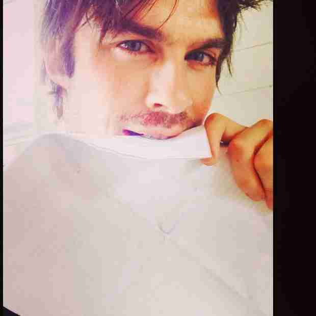 Ian Somerhalder Is the Busiest Man in D.C. — See What He's Doing Now! (PHOTO)