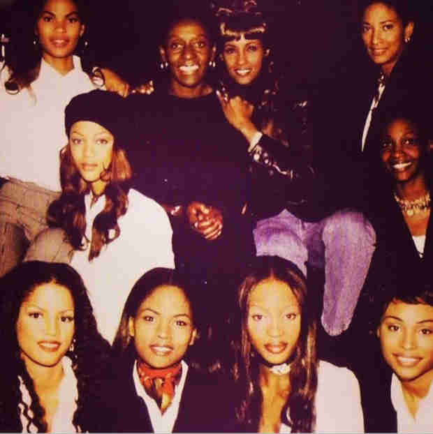 See Cynthia Bailey Back in the Day With Tyra Banks, Naomi Campbell, and Iman! (PHOTO)