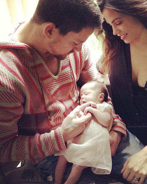 Channing Tatum Shares Cute Story About Daughter Everly! (VIDEO)