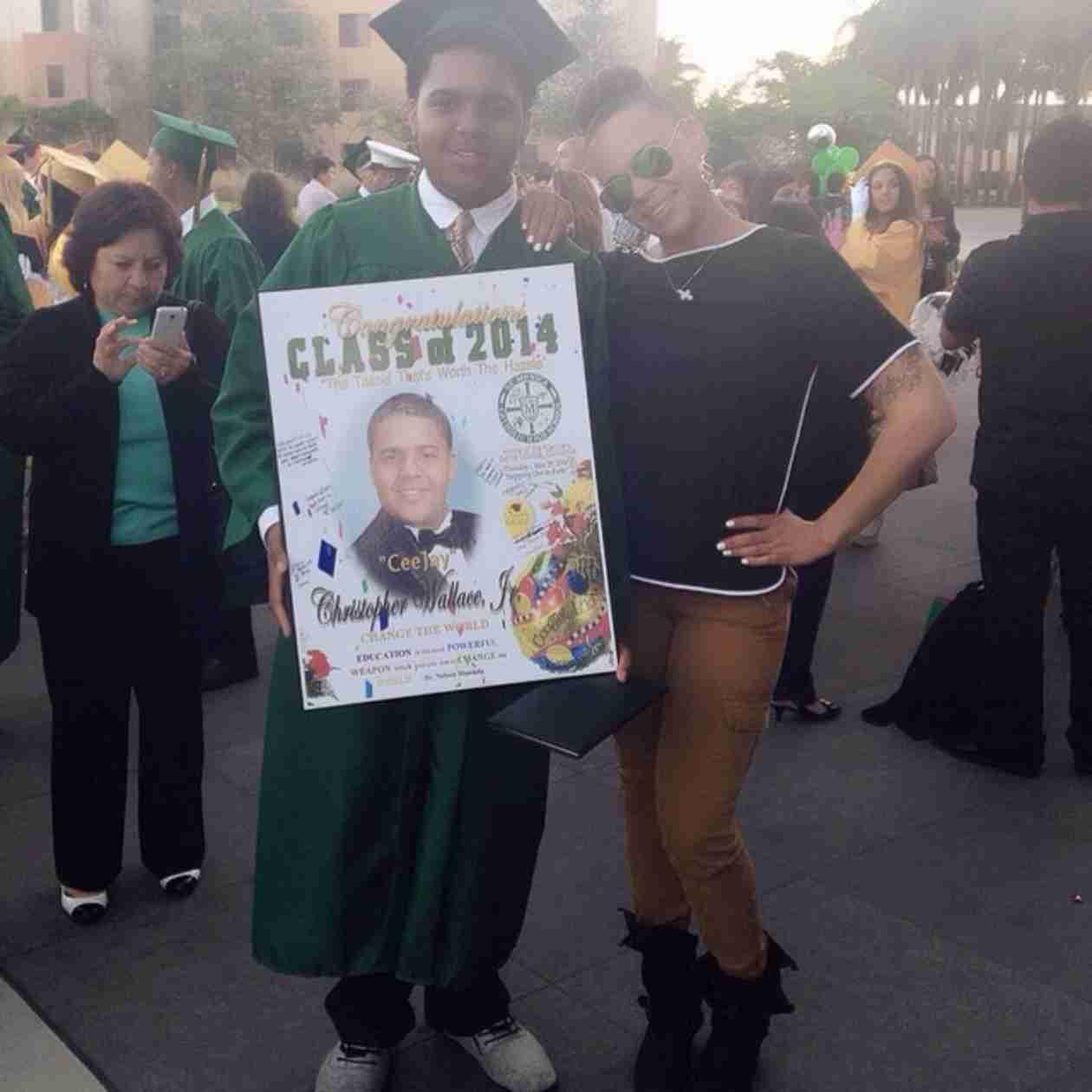 Faith Evans's Son With Notorious B.I.G. Graduates High School!