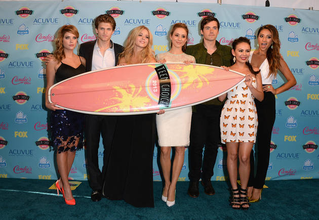 Did Ashley Benson Throw Shade at the 2014 Teen Choice Awards? You Be the Judge!