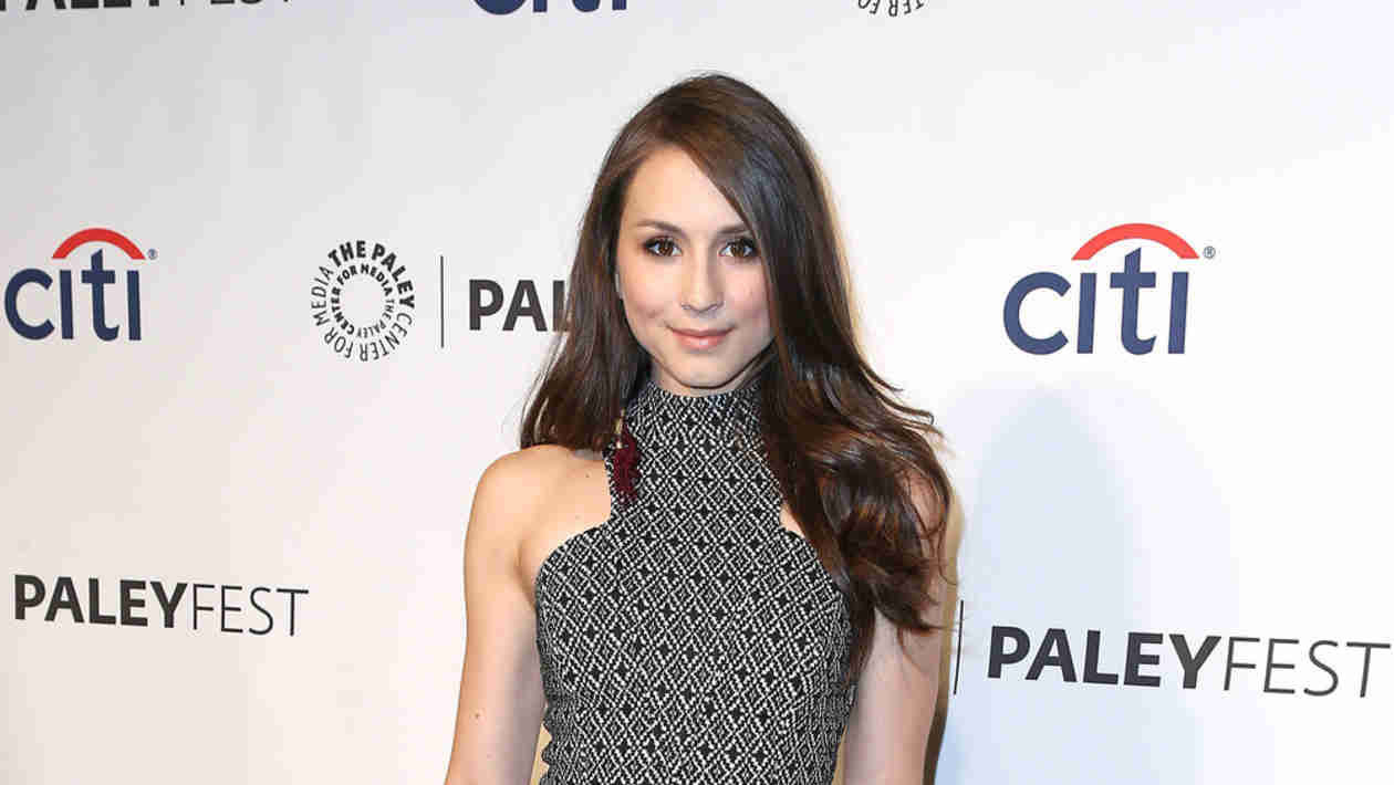 What Has Pretty Little Liars Star Troian Bellisario Jumping For Joy?