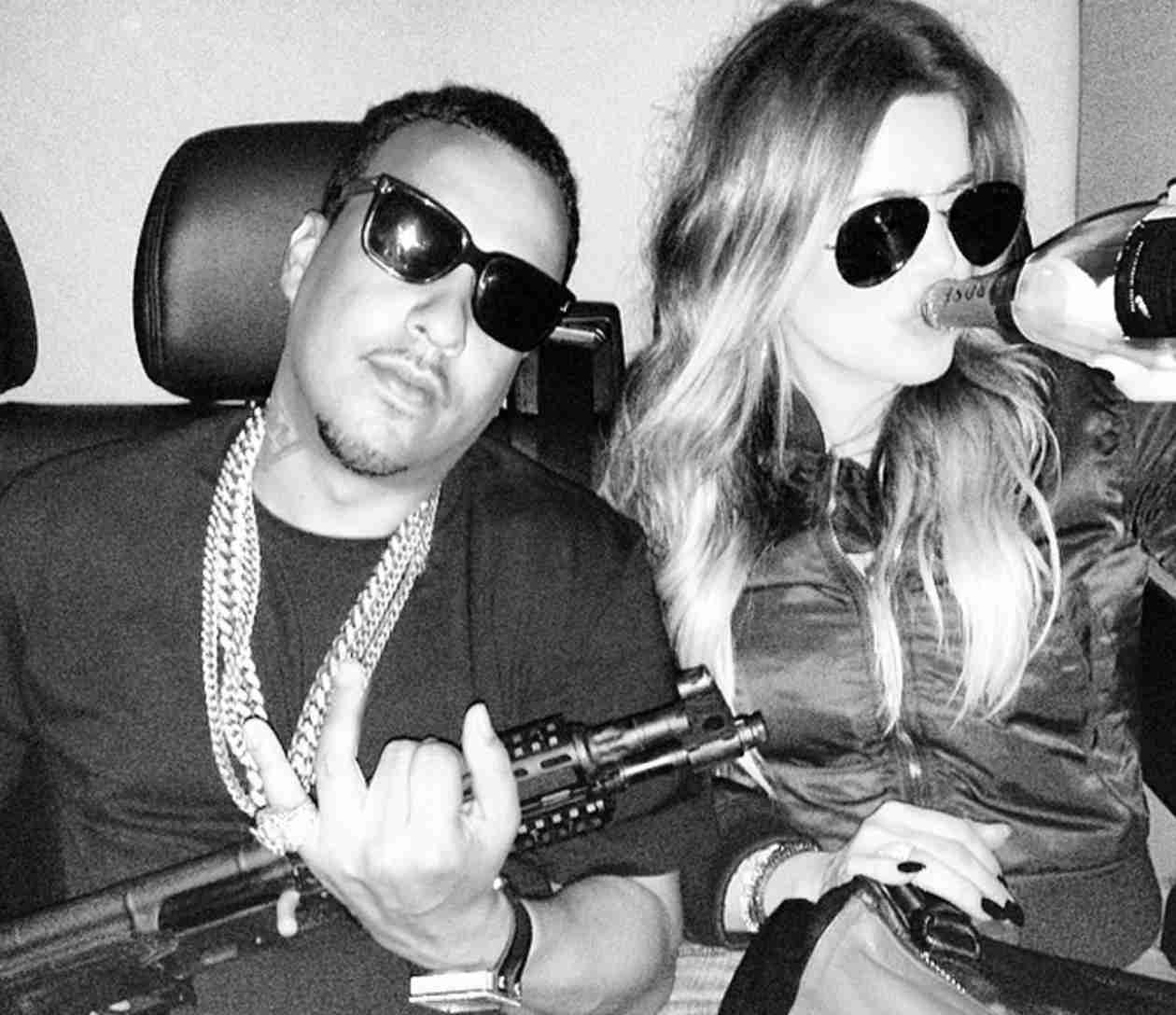 Khloe Kardashian Kisses, Dances With French Montana at Awards Show — See It!