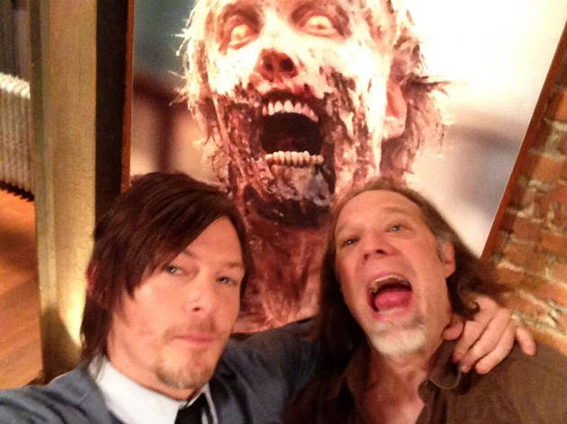 Watch Rick, Abraham, Daryl Kill Walkers Together — in Greg Nicotero's Saturn Awards Speech (VIDEO)