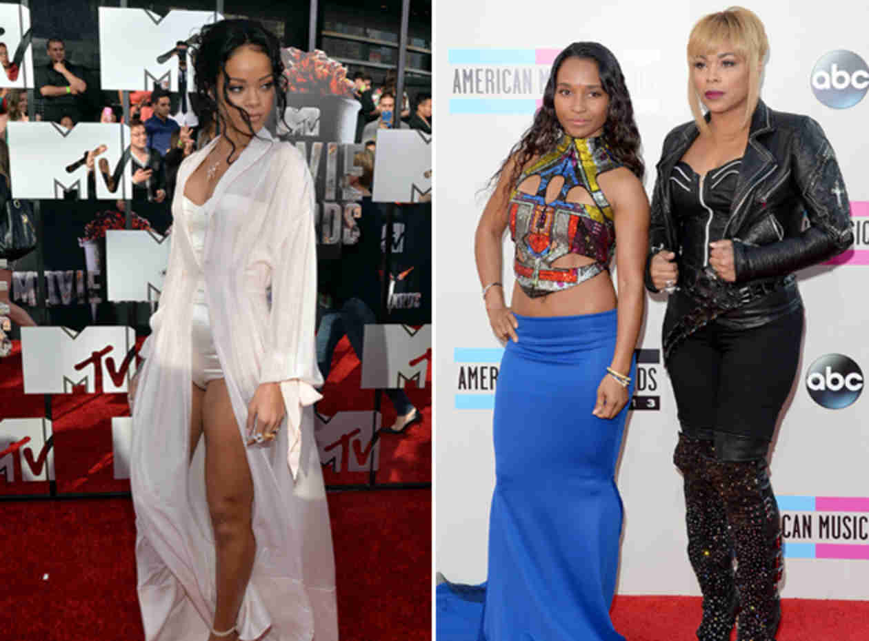 Rihanna Blasts TLC For Comments on Her Constant Nudity (PHOTOS)