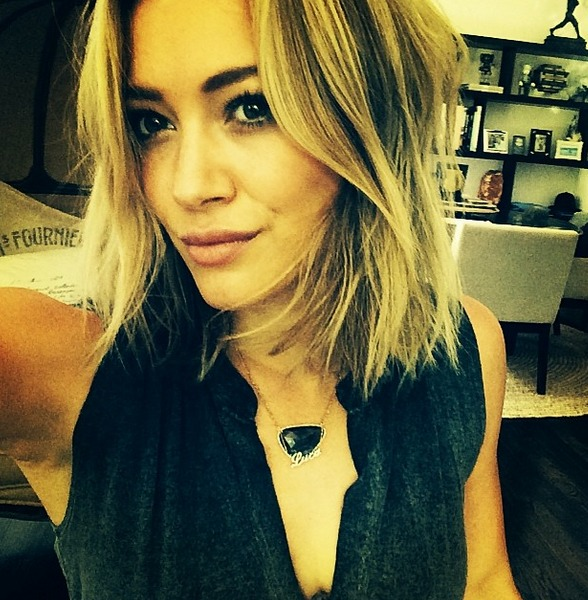 Hilary Duff Gave Herself a New Hair Makeover — Inspired by Sia! (PHOTO)