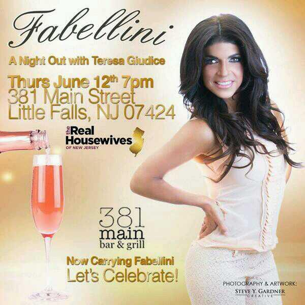 Teresa Giudice Enjoys a Night Out — Meet Her Tonight at Fabellini Event