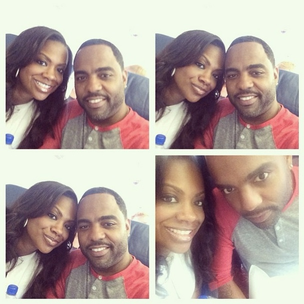 Kandi Burruss and Todd Tucker Go on Vacation (PHOTO)