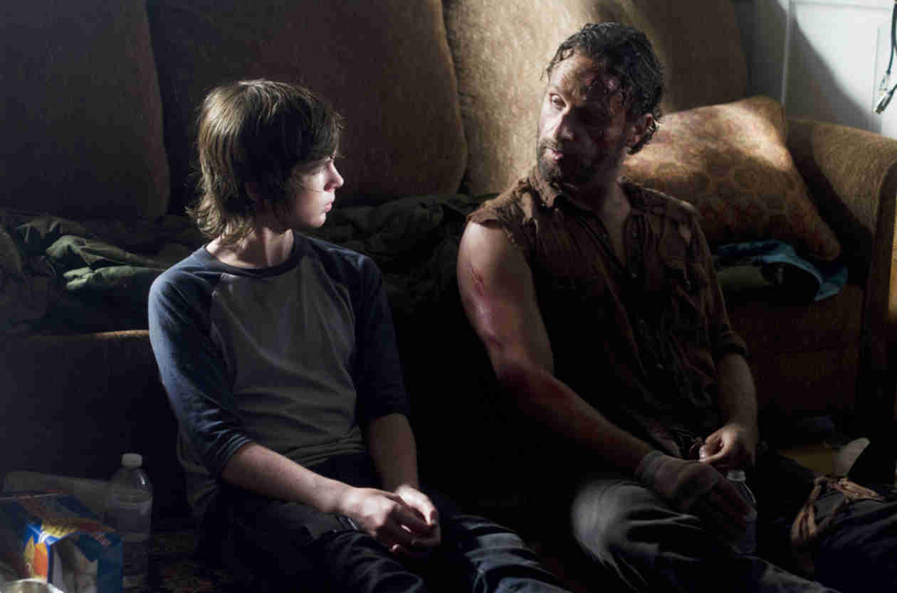 "Chandler Riggs ""Very Excited"" at Possibility of 2014 Emmy Nomination"