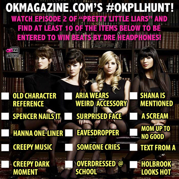 Pretty Little Liars Just Got a Lot More Fun Thanks to This A-mazing Twitter Scavenger Hunt