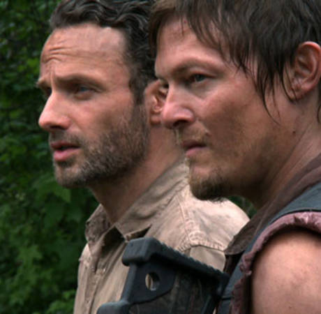 The Walking Dead Season 5: See Andrew Lincoln, Norman Reedus at Hospital Set (PHOTO)