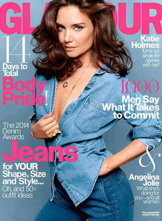 "Katie Holmes: ""When I Became a Mother, My Life Completely Changed"""