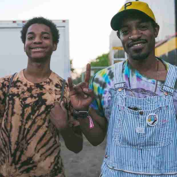 Andre 3000 and Erykah Badu's Son Is All Grown Up! (PHOTO)