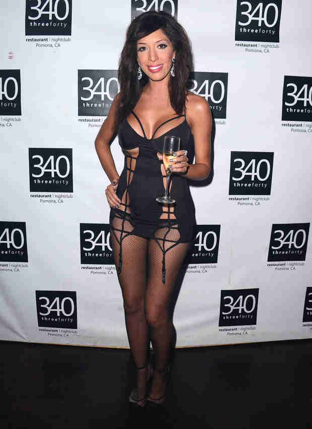 Farrah Abraham Celebrates Release of Sex Toys — In Lingerie! (PHOTO)