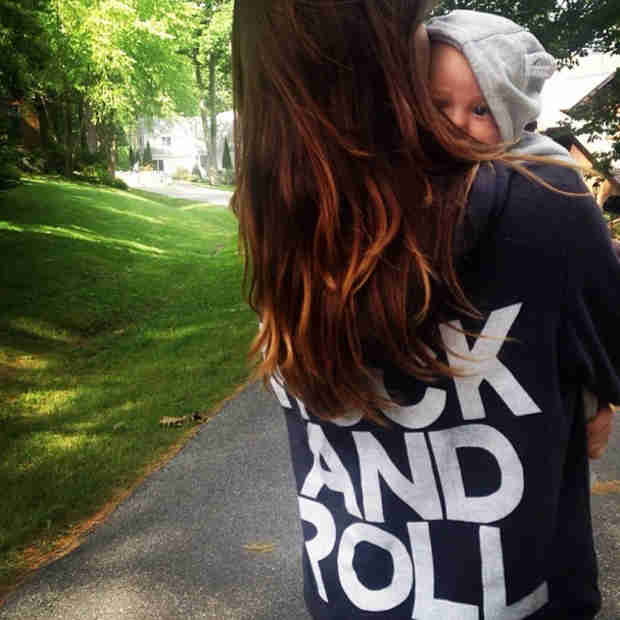 Olivia Wilde Introduces Son Otis on Instagram — Sort of (VIDEO)