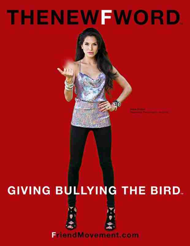 Joyce Giraud Gives the Bird For New Friend Movement Ad (PHOTO)