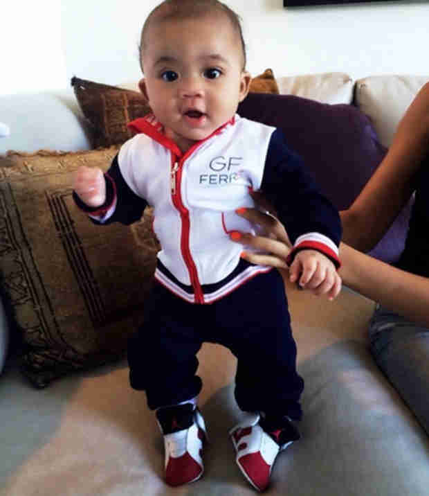 Evelyn Lozada Shares Stylish New Photo of 4-Month-Old Carl Leo!
