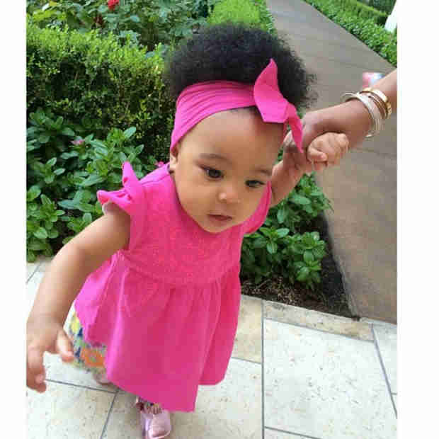 Monica's Daughter Laiyah Takes Her First Steps at 9 Months! (UPDATE: Watch the Video!)