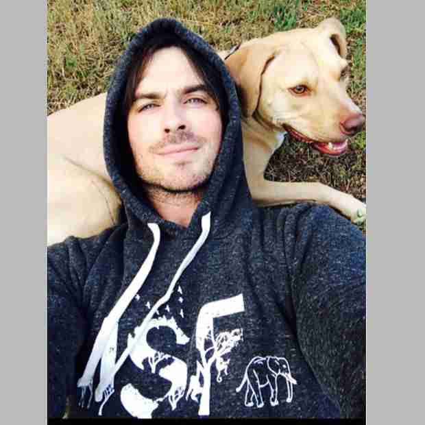 "Ian Somerhalder Hangs Out With His ""Baby Girl"" — Who Is It? (PHOTO)"