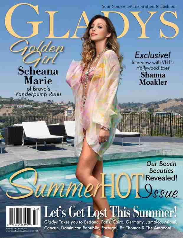 Scheana Marie Looks Fabulous on the Cover of Gladys Magazine (PHOTO)