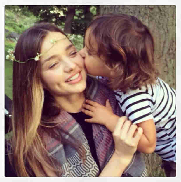 Miranda Kerr Shares a Sweet Pic With Flynn! — What Does He Look Like Now? (PHOTO)