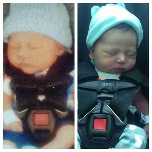 Jenelle Evans's Boys Look Identical in Newborn Pics! (PHOTO)