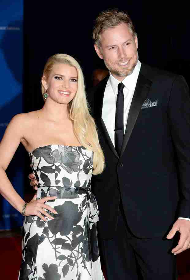 Where Did Jessica Simpson and Eric Johnson Spend Their Wedding Night?