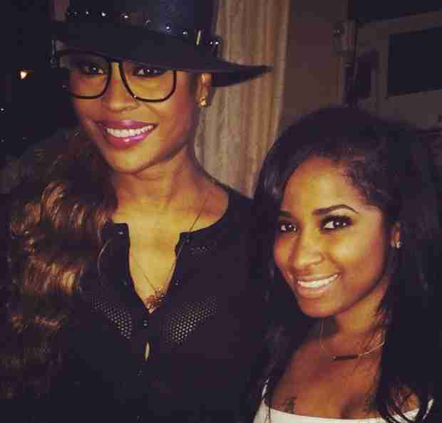 Cynthia Bailey Hangs at Essence Fest 2014 With Janelle Monae, Tamar Braxton, Toya Wright, and More (PHOTOS)