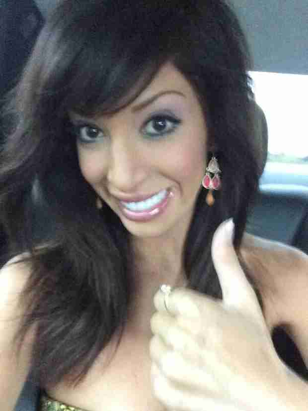 "Farrah Abraham Says Her Erotic Novel Will ""Make You Think"""