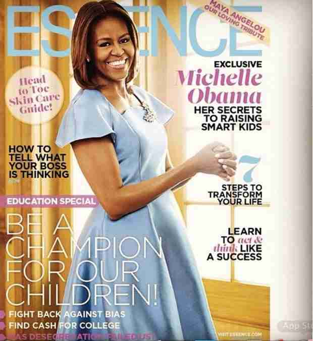 Cynthia Bailey Inspired By Michelle Obama's Essence Cover