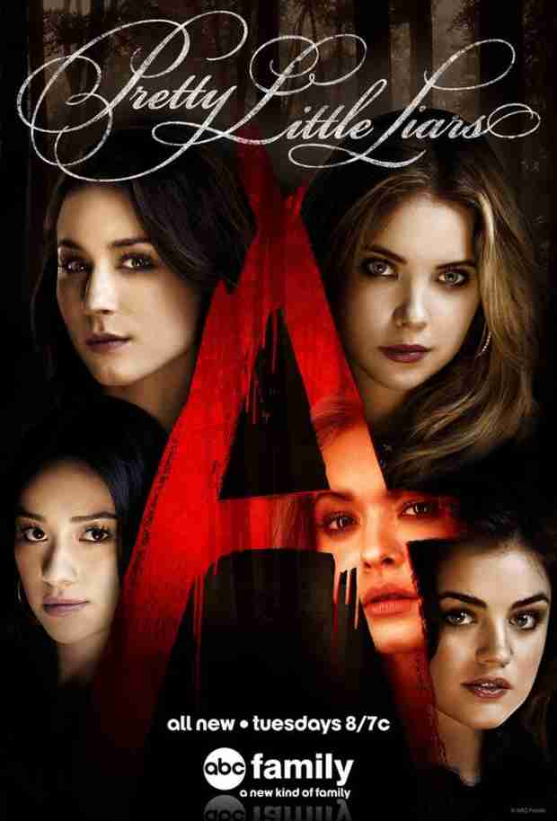 "Ashley Benson Slams Another Pretty Little Liars Poster — ""I Guess We're Vampires Now"""
