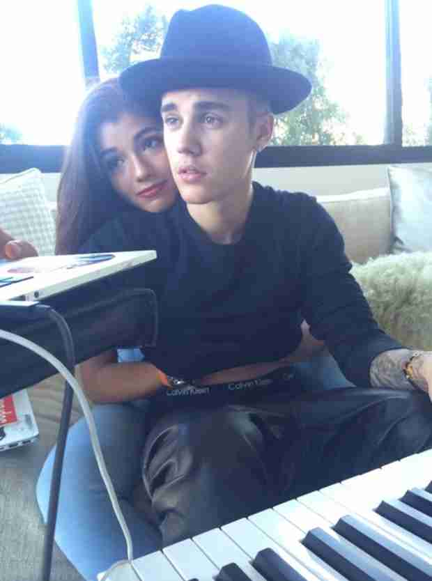Justin Bieber Posts Photo Sitting in Yovanna Ventura's Lap — Are They Dating? (VIDEO)