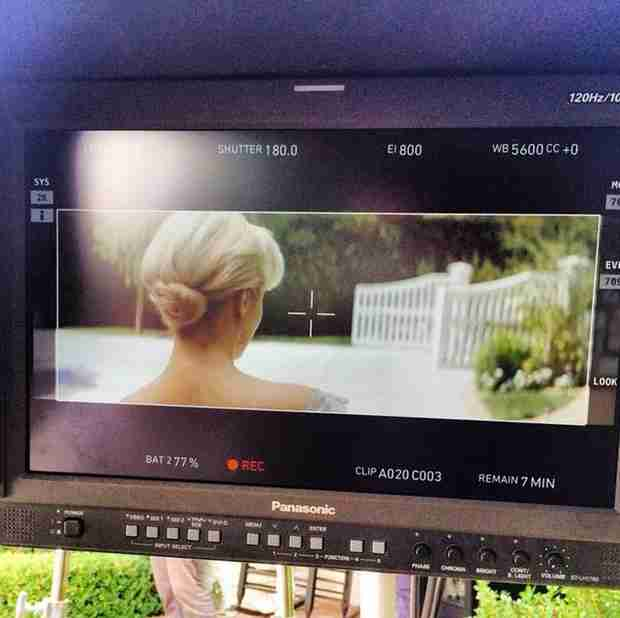 Dianna Agron to Appear in a Music Video For Sam Smith? (PHOTO)