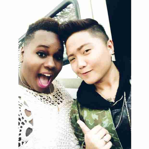 Alex Newell Poses With Charice Pempengco — You Won't Believe What She Looks Like Now! (PHOTO)
