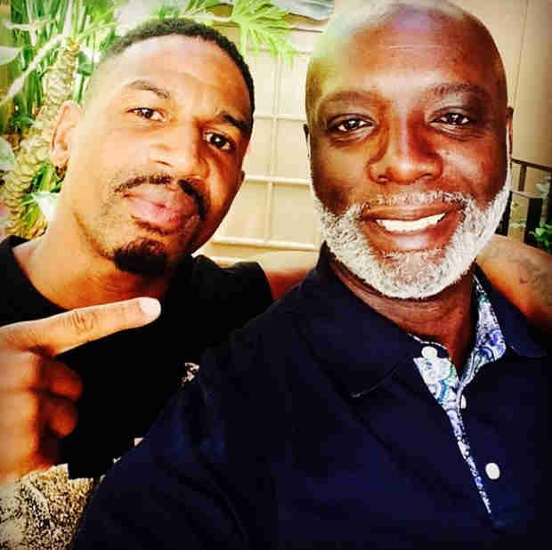 Stevie J and Peter Thomas Hang Out at the 2014 BET Awards! (PHOTO)