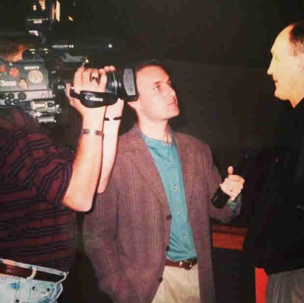Chris Harrison #TBT — See What the Bachelor Host Looked Like in the '90s!