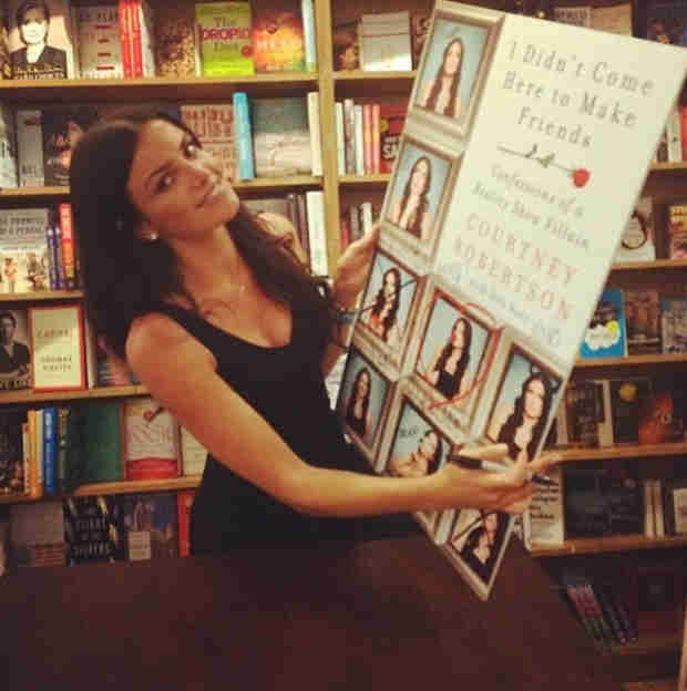 Courtney Robertson's Bachelor Tell-All Hits the NY Times Best Seller List!