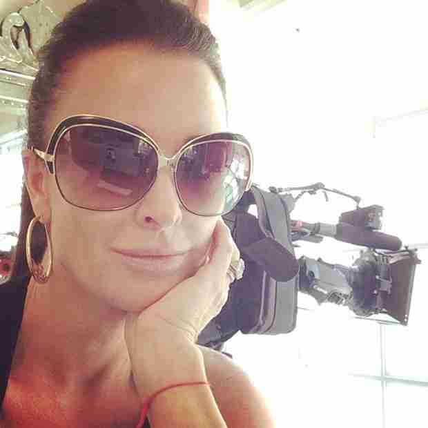 Kyle Richards Shares Season 5 Behind-the-Scenes Selfie (PHOTO)