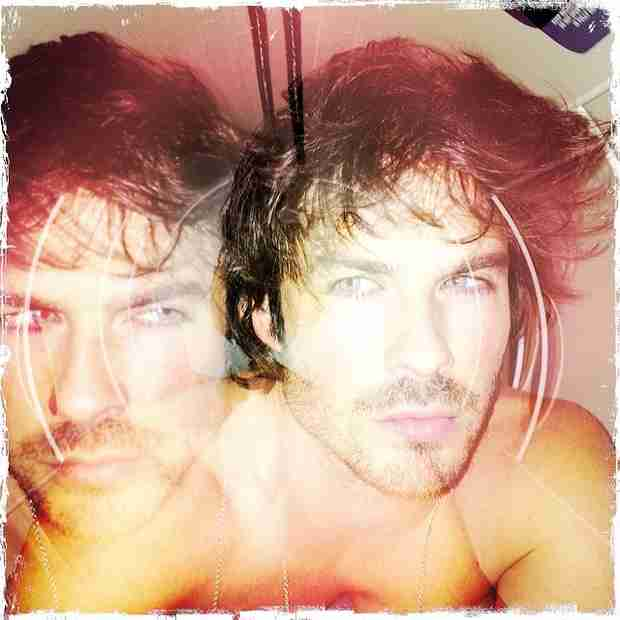 Ian Somerhalder Wishes There Were Two of Him — So Do We! (PHOTO)