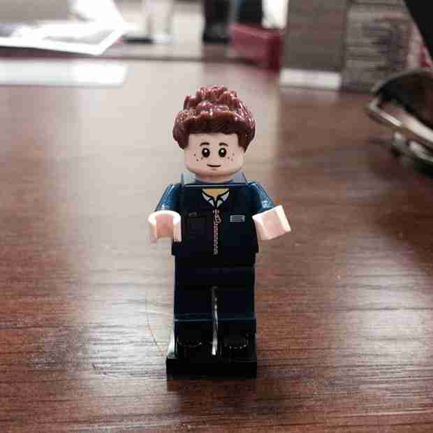 See Tom Avery in Lego Form — Still a Dashing Doppelganger (PHOTO)